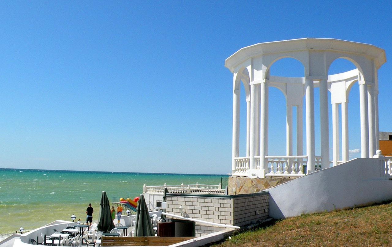 Пгт николаевка пляж фото